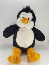 Build A Bear Workshop Black White Soft Sparkle Fur Plush Stuffed Penguin... - $12.86