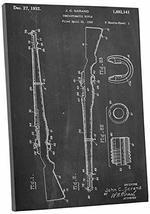 "Pingo World 0302Q77FCXS ""M1 Garand Rifle Patent"" Gallery Wrapped Canvas Print, 3 - $58.36"