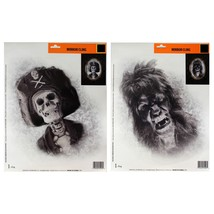 DG* (1) Re-usable MIRROR/WINDOW CLING Party Decor HALLOWEEN New! *YOU CH... - €2,64 EUR
