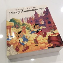 Vtg Treasures Of Disney Animation Art Book Collectible ISBN1-55859-335-7 - $65.00