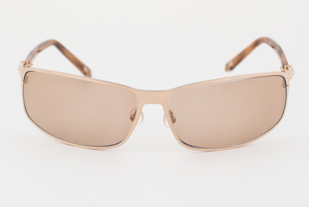 MATSUDA Gold Brown / Brown Sunglasses 10682 BCG image 2