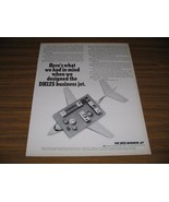 1966 Print Ad DH125 Business Jets Hawker Siddeley LaGuardia Field,NY - $15.08