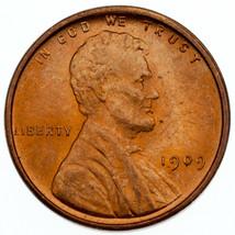 1909 Vdb 1C Lincoln Cents Choix Bu, Rouge Couleur, Terrific Oeil Appeal ... - $74.14