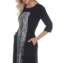 Constance Midi Dress - Grey Snake image 4