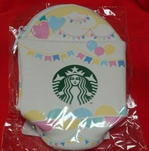 STARBUCKS Frappuccino Pencil Case Pouch Polyurethane 2019 Limited From J... - $55.09