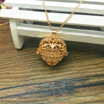 GP HEART DIFFUSER AROMA LOCKET NECKLACE  >> COMBINED SHIPPING <<   ( - $4.16