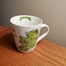 Ireland Coffee Mug, Irish map & Irish dancer, gift for ireland lover