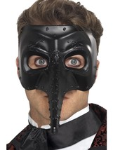 Venetian Gothic Capitano Mask, Eyemasks, Fancy Dress - $8.85