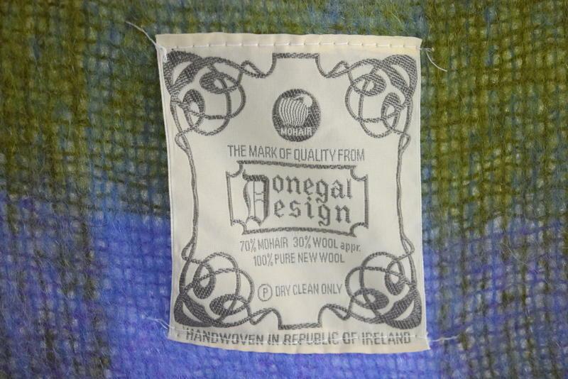 Coperta Lana Mohair.Vtg Donegal Mohair Throw Blanket Wool Hand And 50 Similar Items