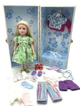 2003 Madame Alexander Hannah Pepper Doll - Blue Eyes Blonde W/ Outfits And Trunk - $118.80