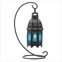 Gifts & Decor Night Hanging Table Lantern Candle Holder, Sapphire - $26.45
