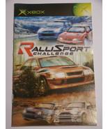 XBOX - RALLI SPORT CHALLENGE (Replacement Manual) - $8.00