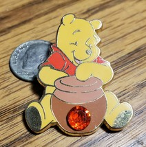 Disney Winnie the Pooh Lapel Pin Birthstone 12 Months of Magic Garnet Ja... - $14.50