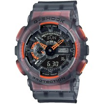 New Casio G-Shock Ana-Digital Semi-Transparent Resin Strap Watch GA110L... - $109.79