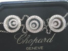 Chopard 18Kt Happy Spirit 3-Circular Diamant Armband - $16,579.52