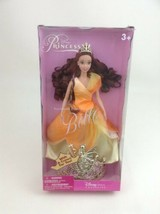 Enchanted Princess Belle Doll with Crown for You Sealed Disney Store Exc... - $53.41