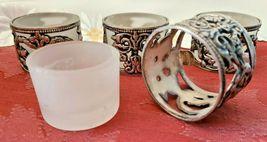 Vintage Silver Plate Tealight Votive Candle Holders - Set of 4 image 3