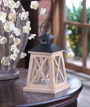 Colonial Height Wooden Lantern   10017552  SMC - $14.80
