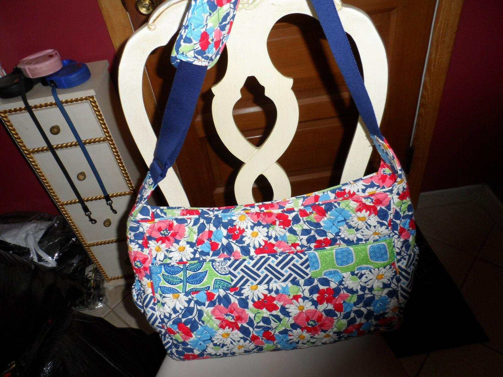 Vera Bradley Summer Cottage patchwork Medley baby tote bag