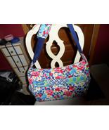 Vera Bradley Summer Cottage patchwork Medley baby tote bag - $60.51