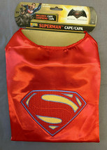 BATMAN VS. SUPERMAN THE MOVIE: SUPERMAN CAPE ONE SIZE 7+ SIZE - $12.82