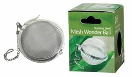 HIC Stainless Steel Mesh Wonder Ball Tea Infuser, 2 ½-Inch - $7.91