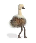 NEW Purely Luxe Boutique Sadira Ostrich Soft Plush Stuffed Animal Aurora... - $34.64