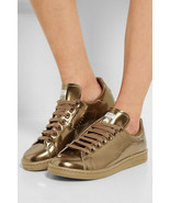 adidas Raf Simons Stan Smith Leather Trainers Gold  - $173.40