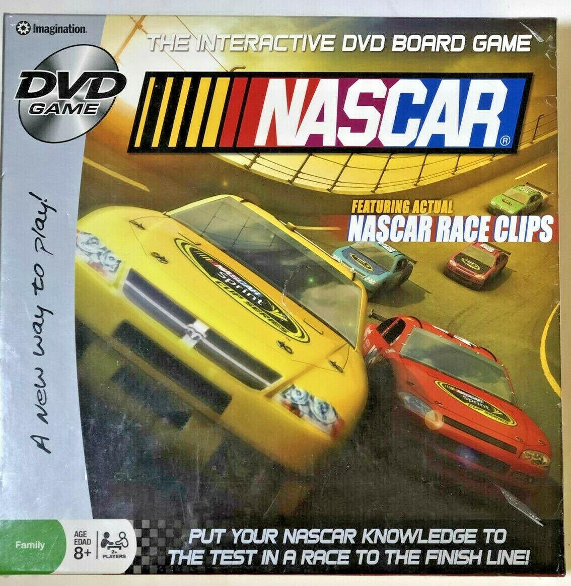 NASCAR DVD Game - $2.88