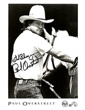 Paul Overstreet Signed Autographed Glossy 8x10 Photo - COA Matching Holo... - $34.64