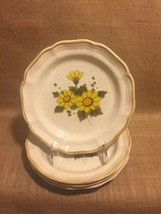 "Mikasa Sunny Side Set of 2 Salad Plates 8"" EB802 Vintage, excellent condition - $23.99"