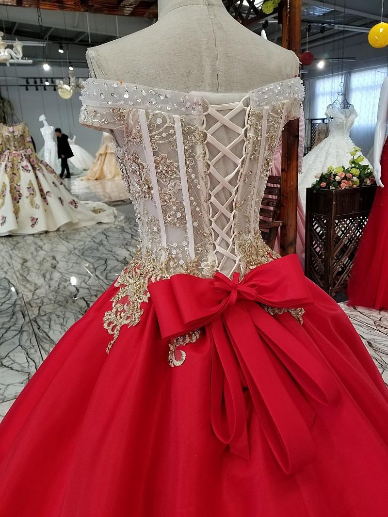 2018 Korean version of the pregnant bride luxury slim tail wedding dress word sh