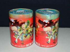 Walt Disney's Toy Story Large Round Illustrated Tin Coin Bank Style B NEW UNUSED - $11.64