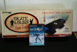 NEW SKATEBOARD CONTROLLER & SKI and SHOOT For PLAYSTATION 2  - $34.95