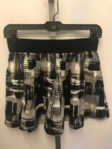 Women's Twenty One XXI Black White Mini Skirt Size S Small B5 - $8.05