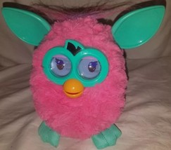 2012 Interactive Furby Pink & Teal With Purple Tail Works  - $11.29