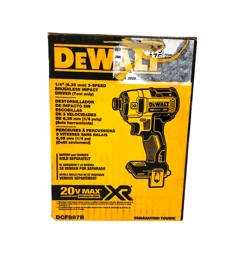 Primary image for Dewalt Cordless Hand Tools Dcf887b