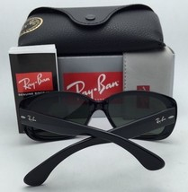 New RAY-BAN Sunglasses JACKIE OHH II RB 4098 601/8G Black Frame w/ Grey Gradient