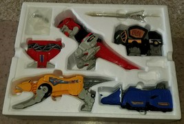 1991 Bandai Mighty Morphin Power Rangers Deluxe Set Megazord Action Figures - $75.00