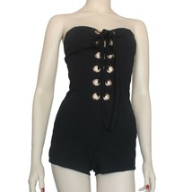 Black Romper with Gold Hardware By Symphony Size S - $16.99