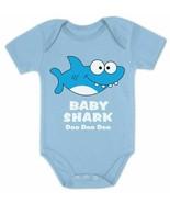 BABY SHARK DOO DOO DOO ONE PIECE SNAP TEE SHIRT  6 MONTHS  NWOT :B19-50 - $13.85