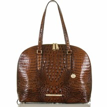 Brahmin Cora Melbourne - Oversize Pecan Leather Shoulder Bag - $338.44