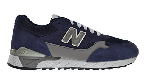 New Balance 496 80's Men's Running Shoes Navy cm496-nvy (8 D(M) US)
