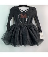 Disney Minnie Mouse 2T Flip-Sequin Leotard & Halloween Tutu Skirt NEW - $11.27