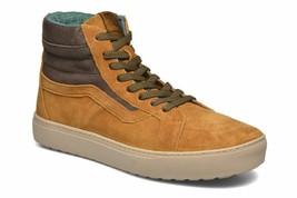 VANS Sk8 Hi MTE Cathay Hummus Brown Water Resistant Outdoor Womens Boots - $64.95