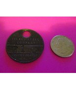Inland Steel Company Metal Pay Badge Tag or Check - Vintage - $18.00