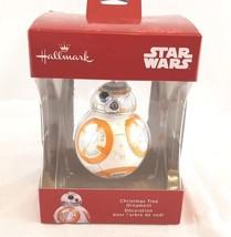 Hallmark Ornament Red Box Star Wars BB8 NIB New  - $14.02