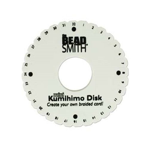 Primary image for LOT of 5 Mini KUMIHIMO Round Disks PLATE for BRAIDING 4.25 inch ~No packaging