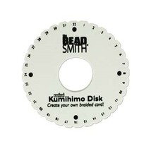 LOT of 5 Mini KUMIHIMO Round Disks PLATE for BRAIDING 4.25 inch ~No pack... - $17.70