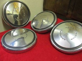 "OEM 1970-90 Ford Dog Dish Center Caps 10 3/4"" F100 150 Truck Set Of 4 Fr... - $199.95"
